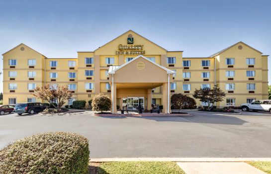 Exterior view Quality Inn & Suites Spartanburg