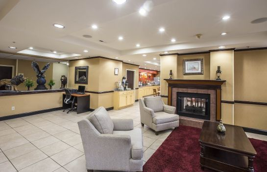 Lobby Quality Inn & Suites Spartanburg