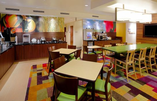 Restaurant Fairfield Inn & Suites Tampa Brandon