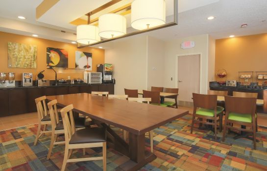 Restaurant Fairfield Inn Tulsa Woodland Hills