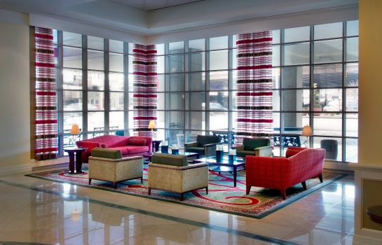 Lobby Tower Square Hotel Springfield