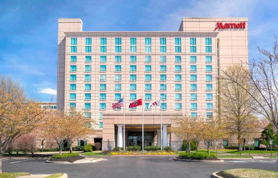 Vista esterna Franklin Marriott Cool Springs