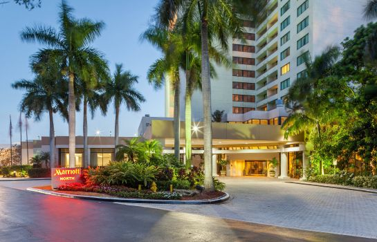 Buitenaanzicht Fort Lauderdale Marriott North