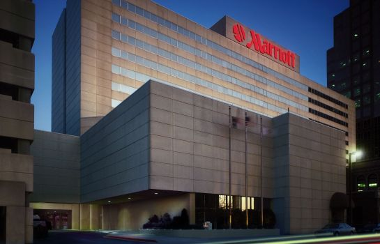 Außenansicht Greensboro Marriott Downtown