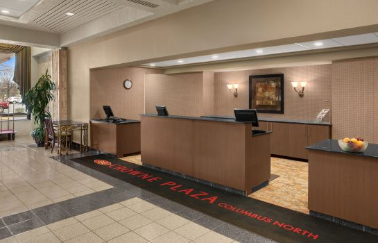 Hotelhalle Crowne Plaza COLUMBUS NORTH- WORTHINGTON