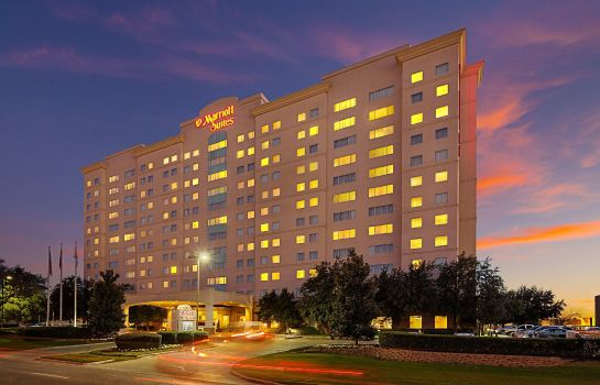Widok zewnętrzny Dallas Marriott Suites Medical/Market Center