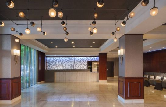 Lobby Dallas Marriott Suites Medical/Market Center