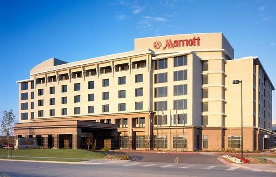 Außenansicht Denver Airport Marriott at Gateway Park