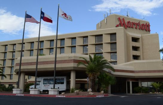 Exterior view El Paso Marriott