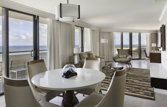 Suite Fort Lauderdale Marriott Harbor Beach Resort & Spa