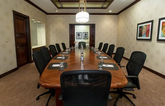 Conference room Greensboro Marriott Downtown