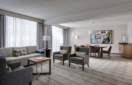 Suite Houston Airport Marriott at George Bush Intercontinental