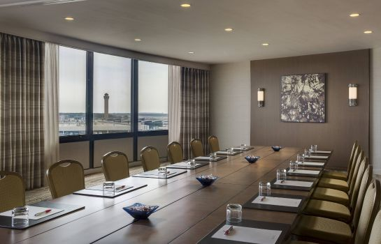 Conference room Houston Airport Marriott at George Bush Intercontinental
