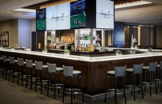 Hotel bar Los Angeles Airport Marriott
