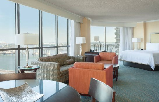 Chambre Miami Marriott Biscayne Bay