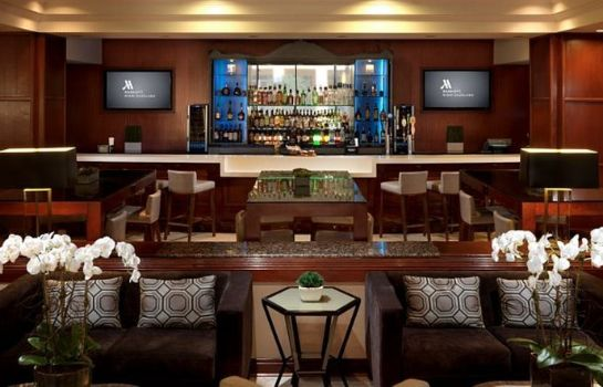 Hotel bar Miami Marriott Dadeland