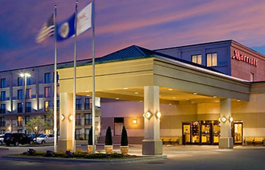 Vista exterior Minneapolis Airport Marriott