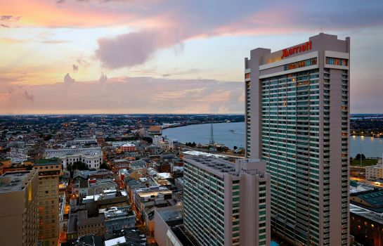 Vista exterior New Orleans Marriott