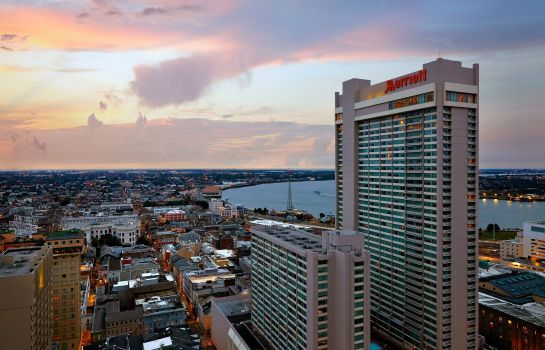 Buitenaanzicht New Orleans Marriott
