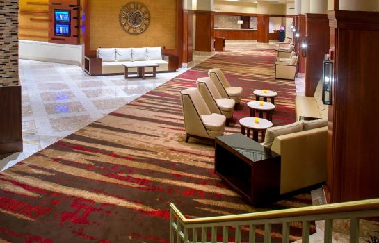 Hotelhalle Philadelphia Airport Marriott