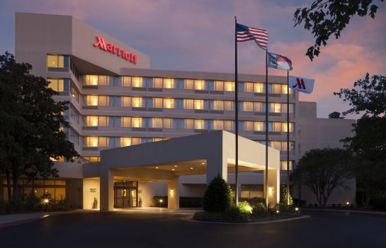 Exterior view Marriott at Research Triangle Park