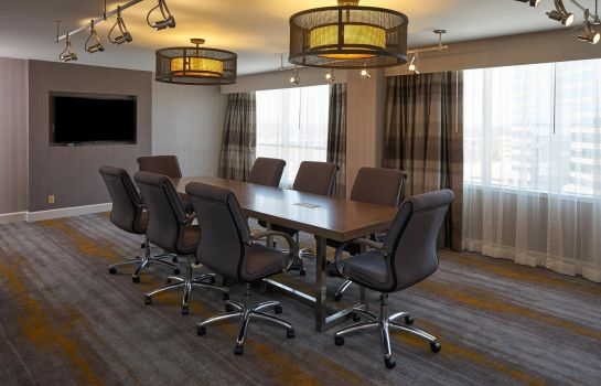 Conference room Durham Marriott City Center