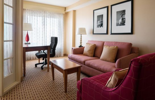 Suite Anaheim Marriott Suites