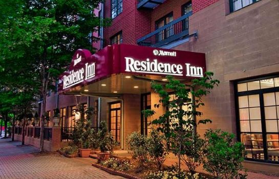 Exterior view Residence Inn Chattanooga Downtown