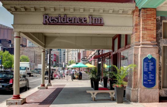 Exterior view Residence Inn Cleveland Downtown