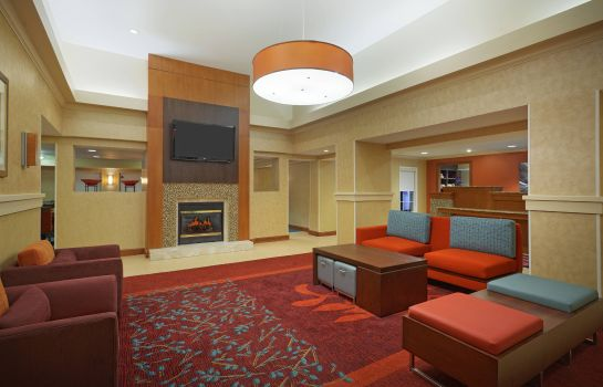 Lobby Residence Inn Houston by The Galleria