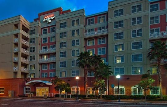 Exterior view Residence Inn Tampa Downtown
