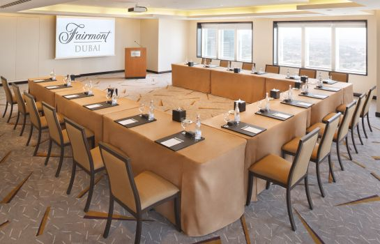 Meeting room Fairmont Dubai