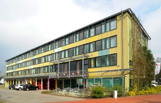 Exterior view Atlantic Hotel am Floetenkiel