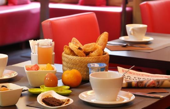 Sala colazione Hotel The Originals Brest Centre La Paix  (ex Qualys-Hotel)