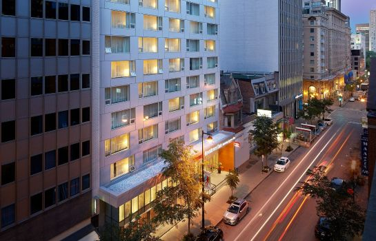 Exterior view Residence Inn Montreal Downtown