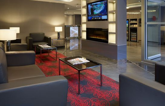 Lobby Residence Inn Montreal Downtown
