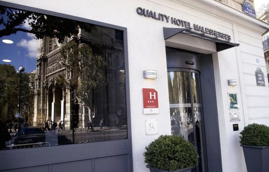 Exterior view Quality Hotel Malesherbes by HappyCulture