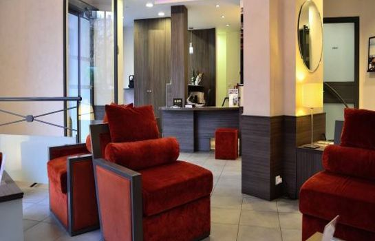 Reception Quality Hotel Malesherbes by HappyCulture