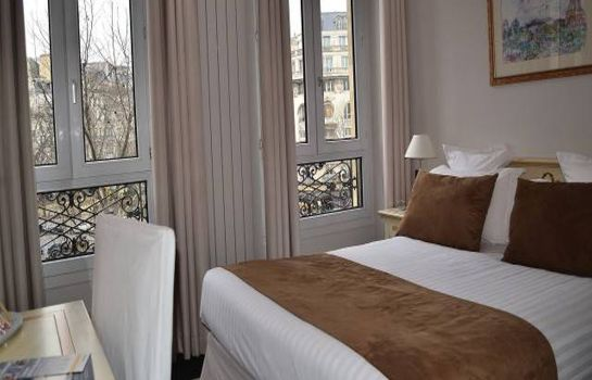 Single room (standard) Quality Hotel Malesherbes by HappyCulture