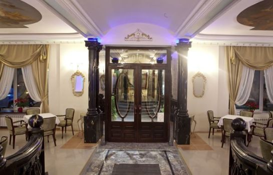 Hall de l'hôtel Queen's Astoria Design Hotel