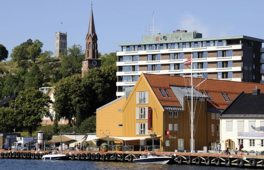 Exterior view Thon Hotel Tonsberg Brygge