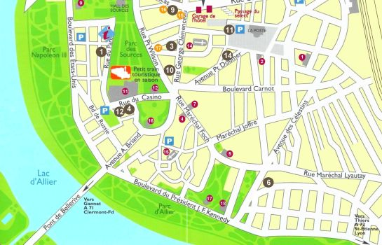 How to find us Citotel Arverna