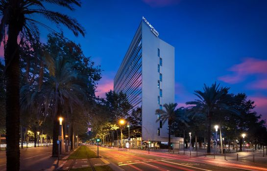 Vista exterior Four Points by Sheraton Barcelona Diagonal