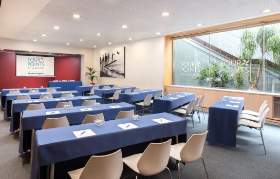 Sala de reuniones Four Points by Sheraton Barcelona Diagonal