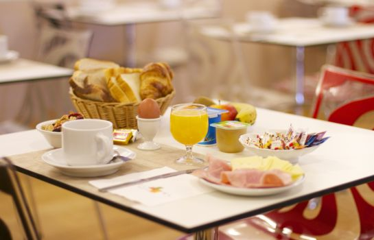 Buffet prima colazione Citotel France et Europe