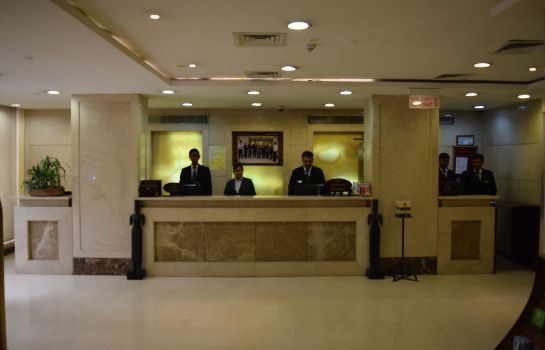 Receptie The Janpath Hotel