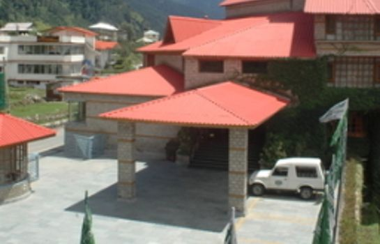 Vista exterior Club Mahindra White Meadows Manali