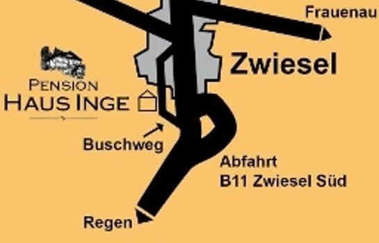 How to find us Haus Inge Pension