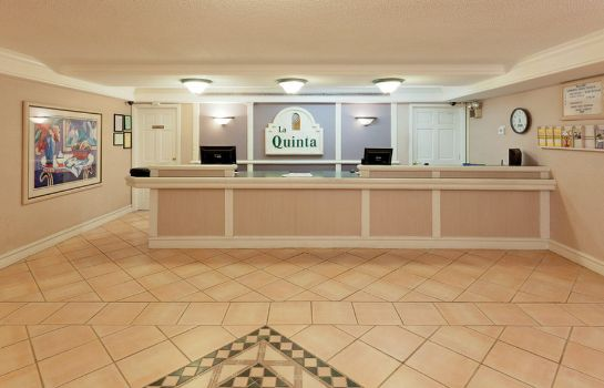 Hol hotelowy LA QUINTA INN HUNTSVILLE SPACE CENTER