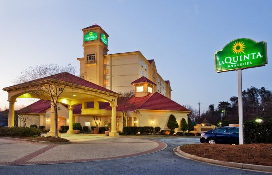 Exterior view La Quinta Inn Ste Greenville Haywood